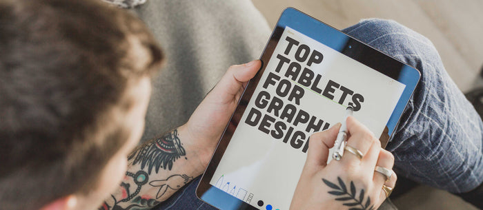 2018's 5 Top Tablets For Graphic Design