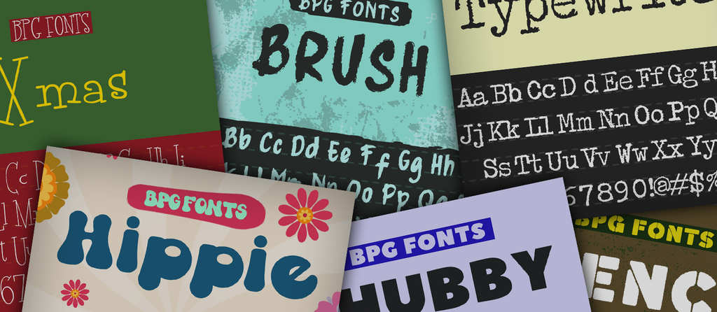 Inspiring Typography and Cool Graphic Fonts to Buy