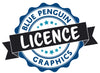 The Blue Penguin Graphics License