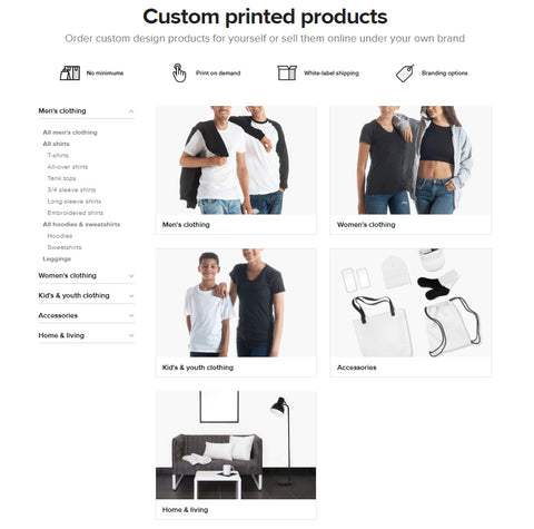 Printful Products