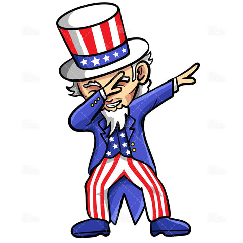 uncle-sam-dabbing-vector-cartoon-clipart-illustration
