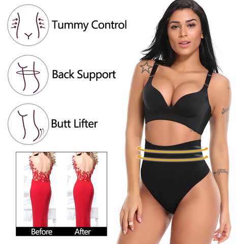 comfythong women's panties benefits tummy control back support and butt lifter