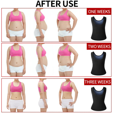 comfysweat fitness workout vest brings results within three weeks