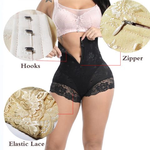 aphrodite shapewear designer shaper panties assorted colors with and without zippers