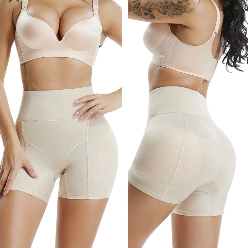 Comfyhourglass Shapewear Shorts High Cut Beige / L - Comfy Era