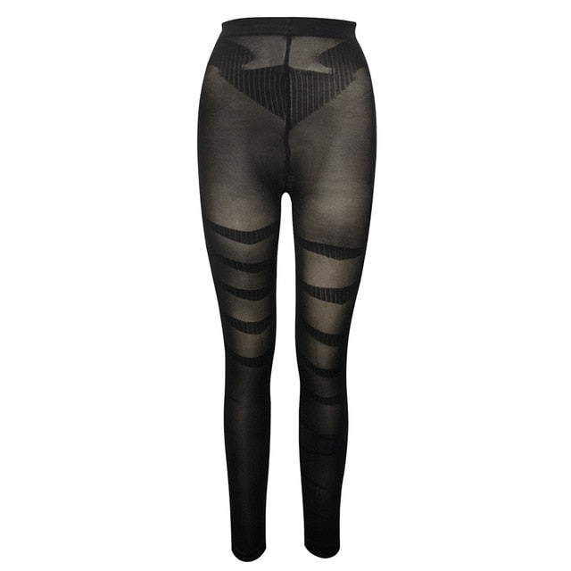 Tigress Leggings Anti Cellulite Compression Shapewear Default Title - Comfy Era