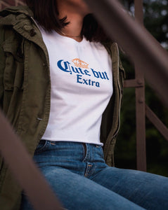 """Cute but extra"" Women's Crop Top"