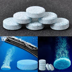 5 Pieces Car Windshield Glass Washer Cleaner Compact Effervescent Tablets Detergent