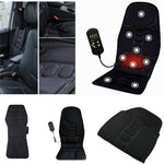 Car & Office Full Heating Massaging Seat Cushion Cover with Vibration Massager Pad