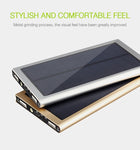 30000mAh Double USB Solar Power Bank with LED