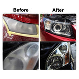 5 In 1 Car Headlight Liquid Polish & Cleaning Kit for Repair and Renovation with Liquid Restoration