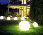 Outdoor LED Solar Ball Lamp with Light Sensor for Outdoor Holiday Garden Path Landscape Decor