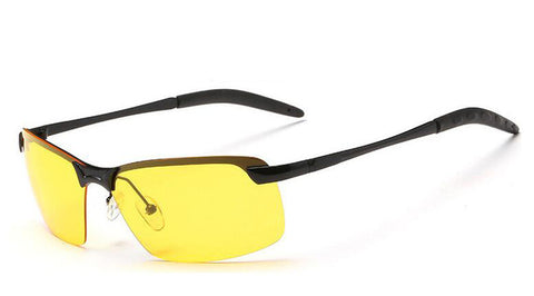 Polarized Anti Glare UV400 Protection Lens for Night-Vision / Night-Driving