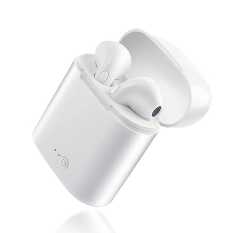 I7S TWS Wireless Bluetooth Earphone Stereo Earbud Headset for Iphone and Android SmartPhones