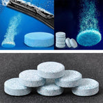 10 Pieces Car Windshield Glass Washer Cleaner Compact Effervescent Tablets Detergent