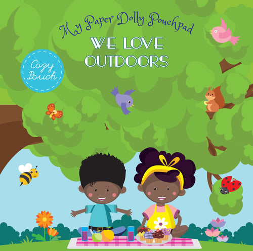 My Paper Dolly Pouchpad: We Love Outdoors
