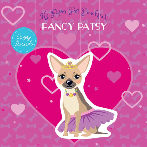 My Paper Pet Pouchpad: Fancy Patsy