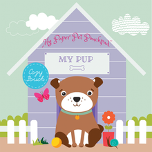Load image into Gallery viewer, PAPER DOLLS My Paper Pet Pouchpad: My Pup