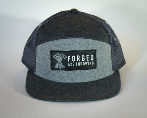 Two-tone Grey Tradesman Hat
