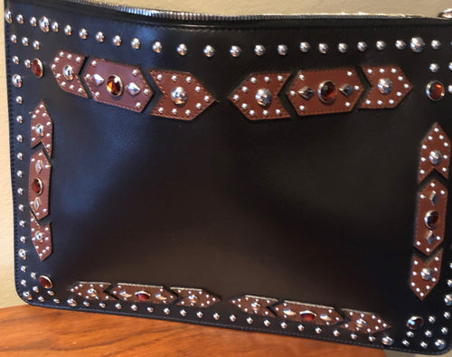 Givenchy Classic Iconic large embellished clutch - Barneys exclusive