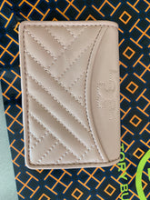 Load image into Gallery viewer, Tory Burch NWT Alexa Foldable Mini Leather Wallet ,