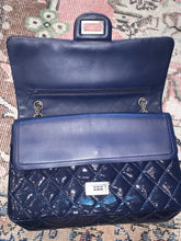Load image into Gallery viewer, Chanel clutch bag - Navy with chain - $2600