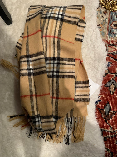 Burberry wool scarf- $128
