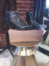 Load image into Gallery viewer, Buttero Black Cowboy tie up bootie - Size 39 - $200