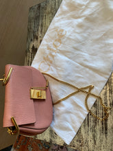 Load image into Gallery viewer, CHLOE Grained Lambskin Mini Drew Crossbody Dreamy Pink