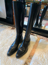 Load image into Gallery viewer, Ralph Lauren Black Leather Riding Boot - Size 7.5M - $36.50
