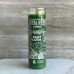 Fast Luck Candle (Green)