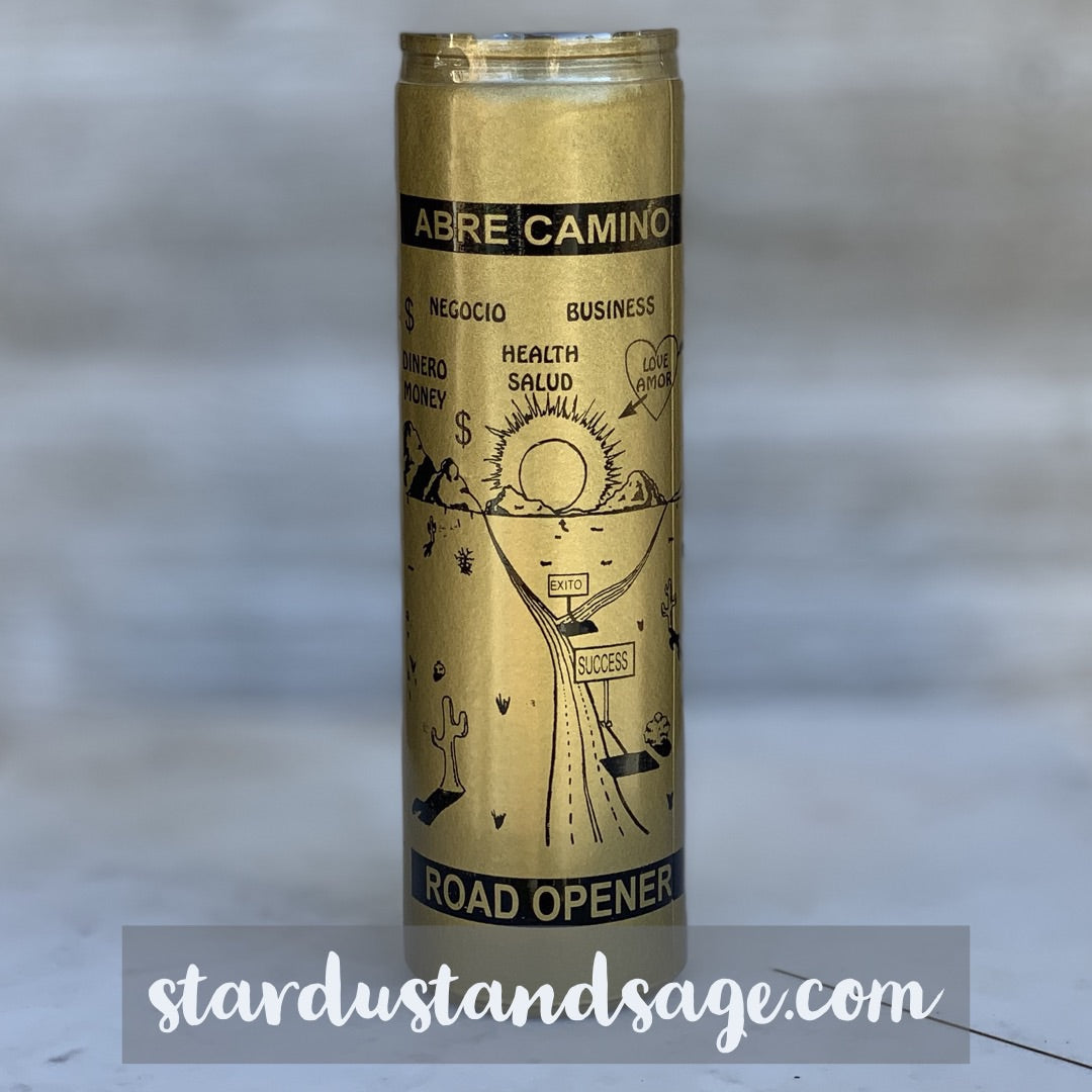 Golden Abre Camino / Road Opener Candle