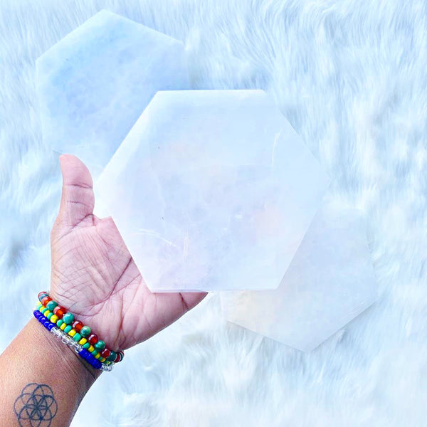 SELENITE Charging Plates & Disks