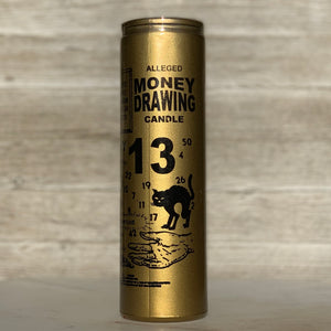 Golden Money Drawing Candle