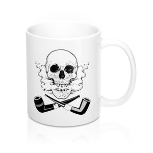 Skull and Cross Pipes Mug 11oz