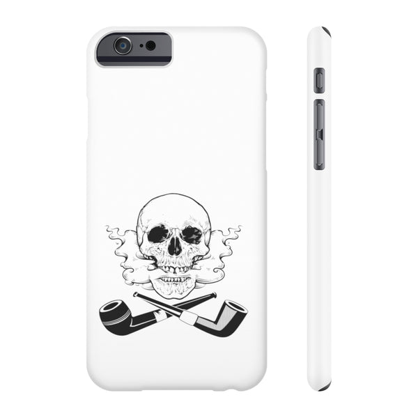 Skull and Cross Pipes Case Mate Slim Phone Cases