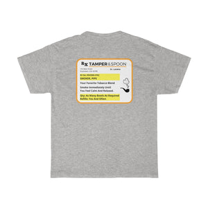 Pipe Prescription Unisex Heavy Cotton Tee