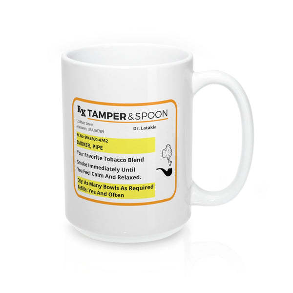 Pipe Prescription Mug 15oz