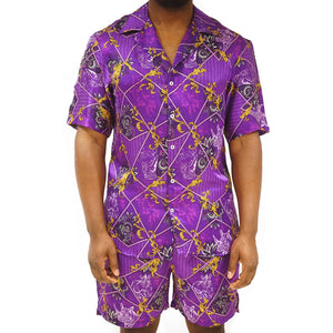 Sudan Purple Shirt