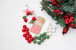 Felt Ball Christmas Ornament Kit