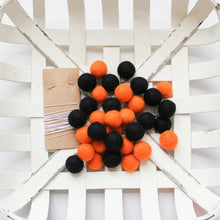Halloween DIY Wool Felt Ball Ornament Kits