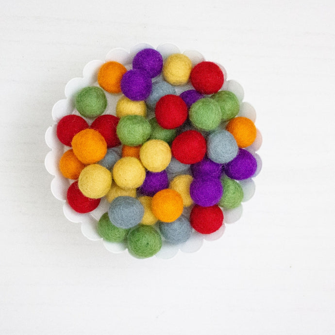 Felt Ball Garland Kits