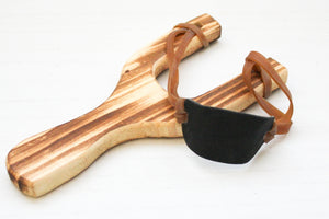 Wood Sling Shot Set