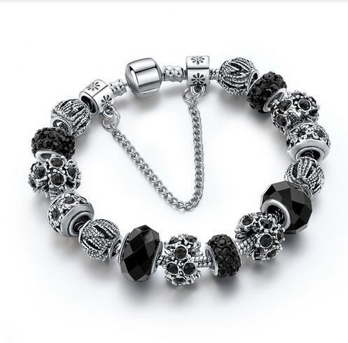 Crystal Beads Bracelets - ethereal-arscenic