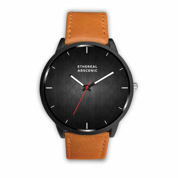 Gotrendz Custom Watch - Mens 40Mm / Brown - Watch