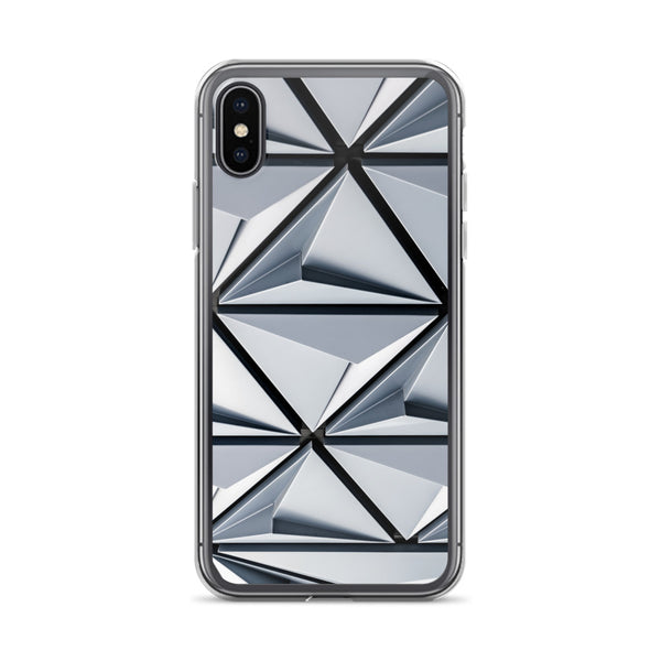 Triangular Abstract iPhone Case
