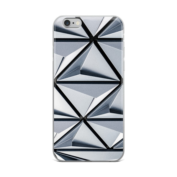 Triangular Abstract iPhone Case - ethereal-arscenic
