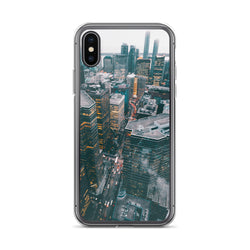 City View iPhone Case - ethereal-arscenic