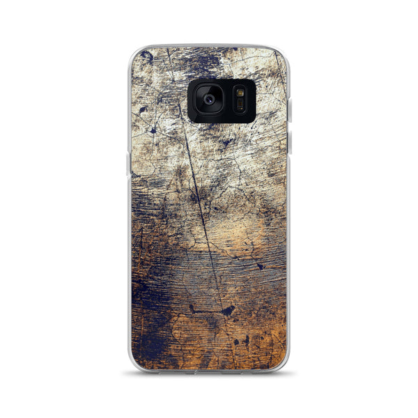 Old Wooden Wall Samsung Case