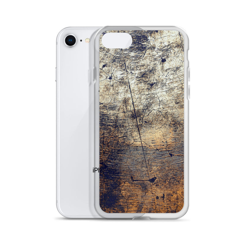 Old Wooden Wall iPhone Case - ethereal-arscenic